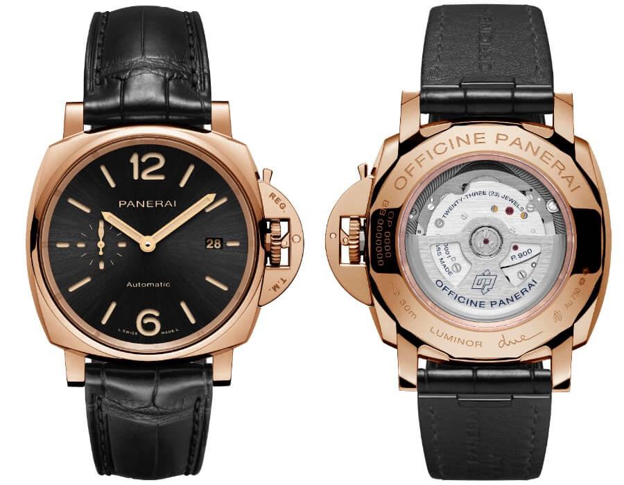 Panerai Men Gold Watch