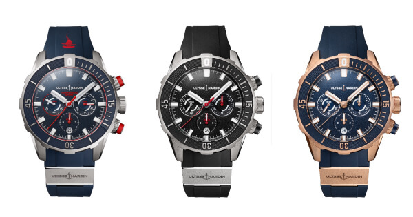 Three New Ulysse Nardin Chronographs (Price, Pictures and Specifications)