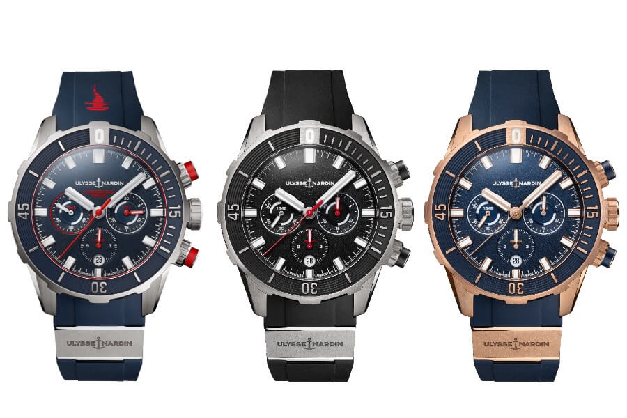 Ulysse Nardin Dive Chronograph Men Watch