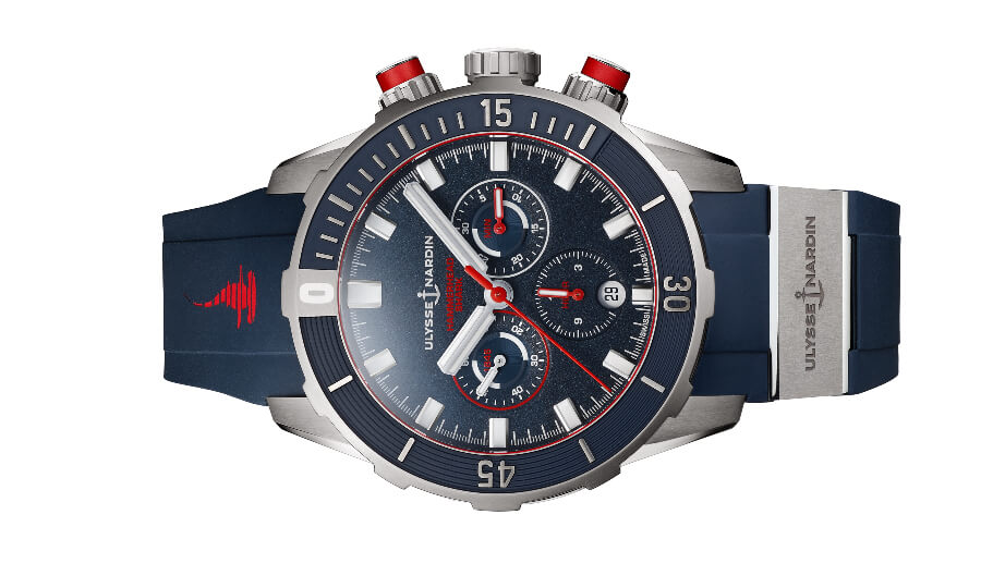 Ulysse Nardin Diver Chronograph 44mm Hammerhead Shark Limited Edition Watch Review