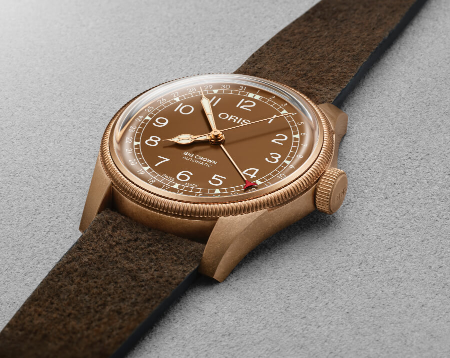 Oris Big Crown Bronze Pointer Date Watch Review
