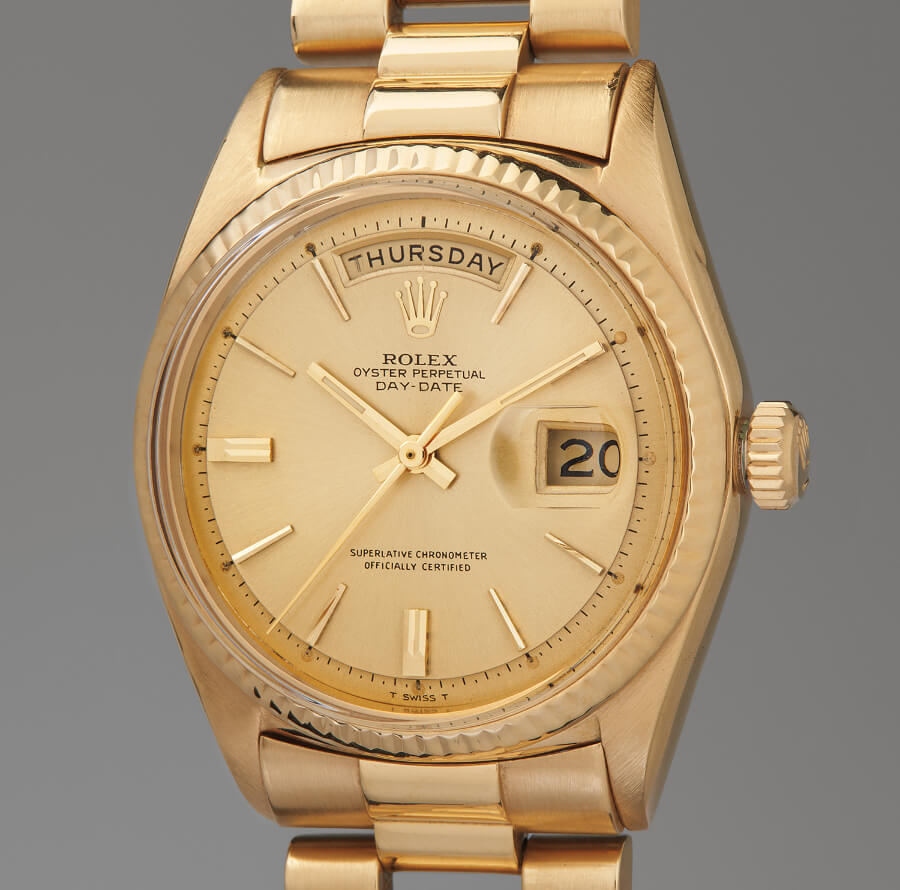Jack Nicklaus' Rolex Day‐Date Reference 1803
