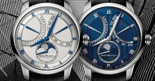 The New Maurice Lacroix Masterpiece Moonphase Retrograde (Price, Pictures and Specifications)