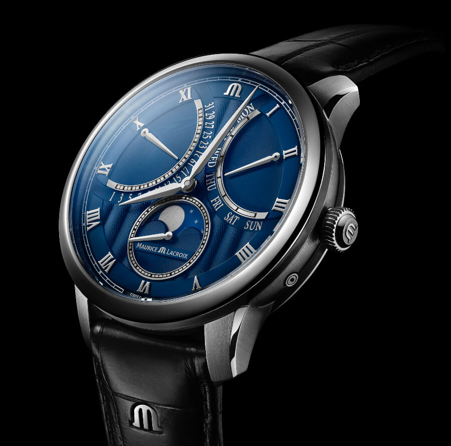 Maurice Lacroix Masterpiece Moonphase Retrograde Watch Review