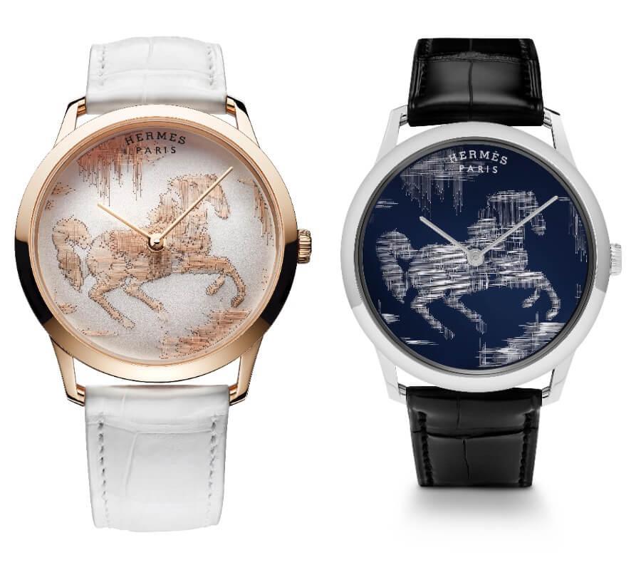 Hermes Slim d'Hermès Cheval Ikat