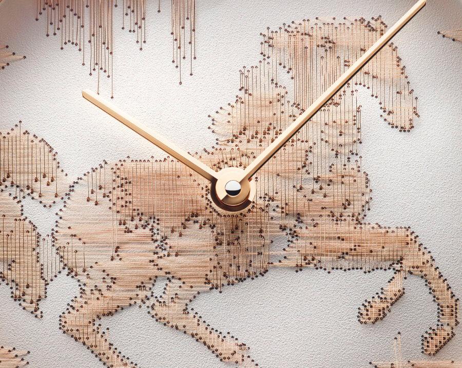 Hermes Slim d'Hermès Cheval Ikat Dial