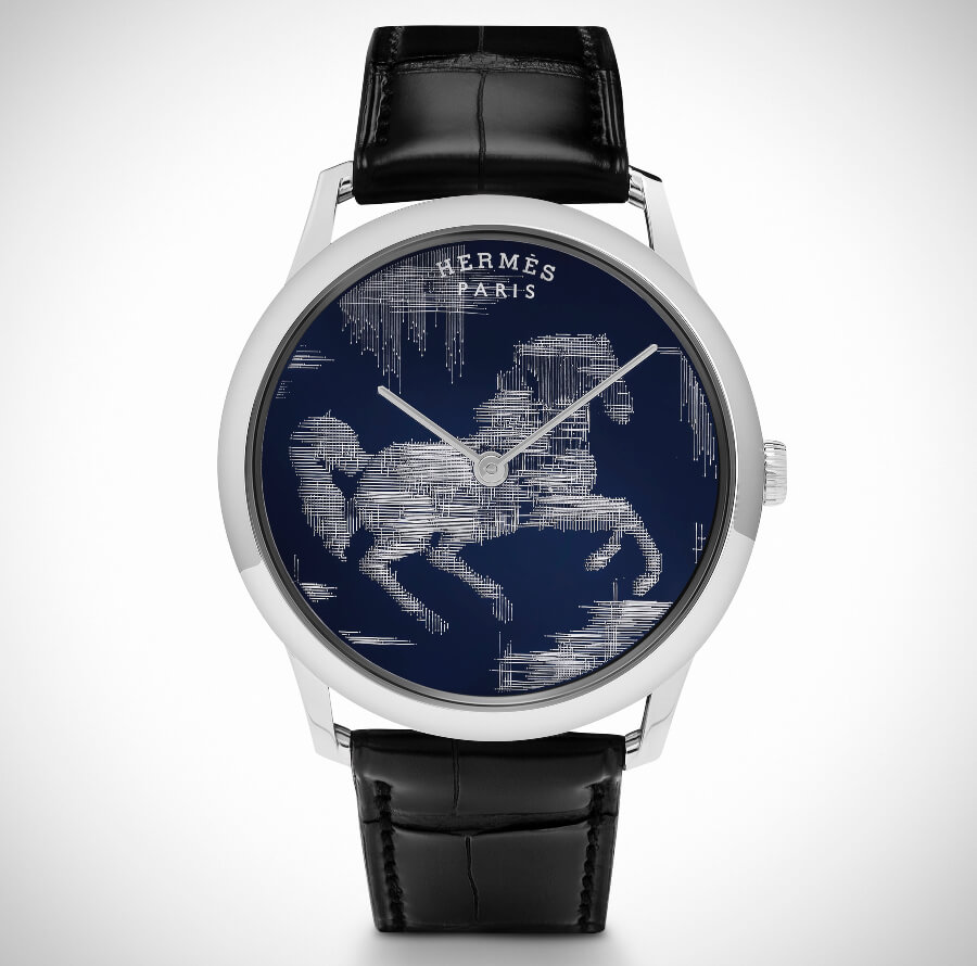Hermes Men Watch Hand Made