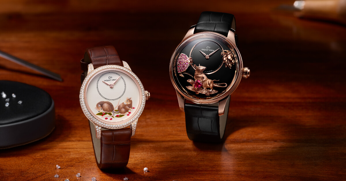 Jaquet Droz Celebrates The New Chinese Zodiac Cycle With Four Exclusive Creations