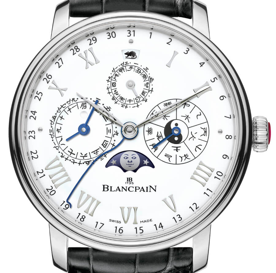 Blancpain Villeret Traditional Chinese Calendar Ref. 00888H-3431-55B