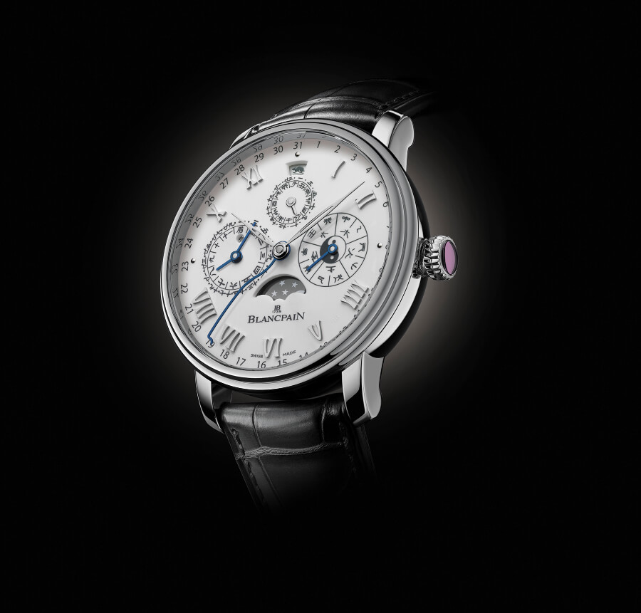The New Blancpain Villeret Traditional Chinese Calendar Ref. 00888H-3431-55B