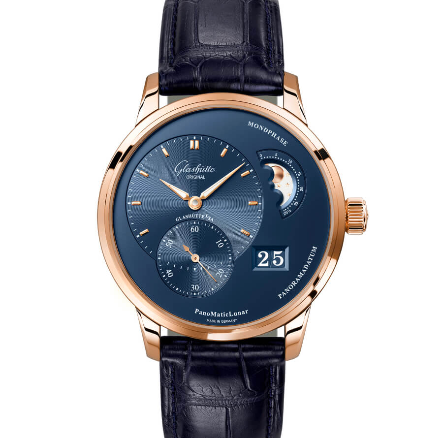 Glashütte Original PanoMaticLunar In A Red Gold Case