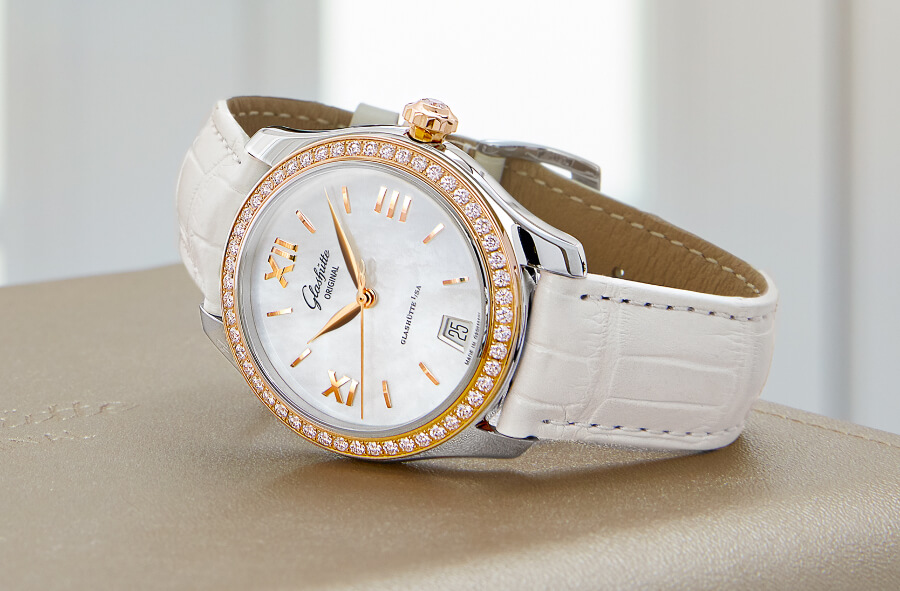 Glashütte Original Lady Serenade Bicolour Watch Review