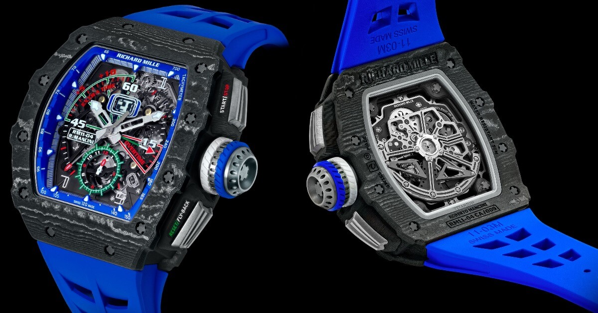 Richard Mille RM 11-04 Automatic Winding Flyback Chronograph Roberto Mancini (Price, Pictures and Specs)