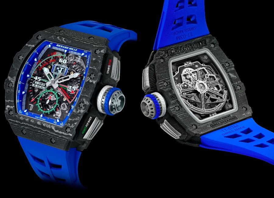 Richard Mille RM 11-04 Automatic Winding Flyback Chronograph Roberto Mancini Watch Review