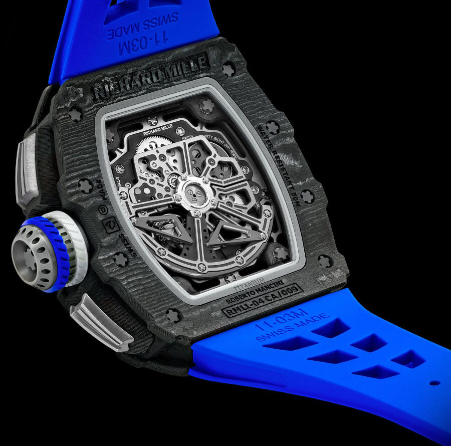 Richard Mille RM 11-04 Automatic Winding Flyback Chronograph Roberto Mancini Movement