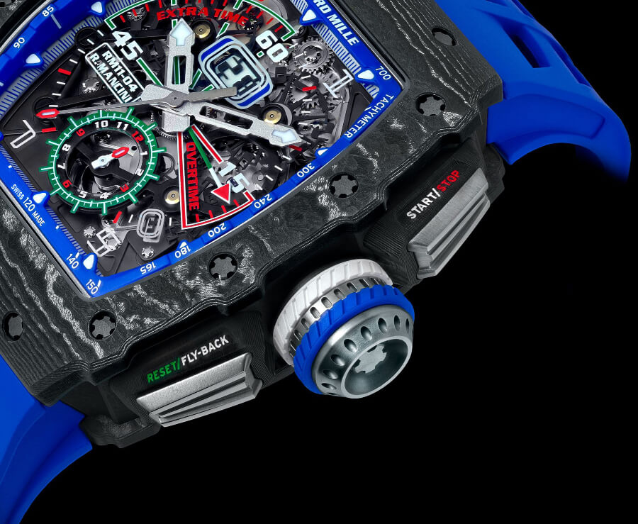 Richard Mille RM 11-04 Automatic Winding Flyback Chronograph Roberto Mancini Case
