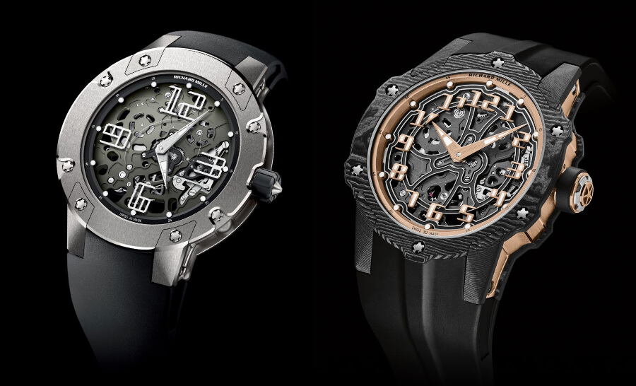 Richard Mille RM 033 and RM 33-02 Automatic