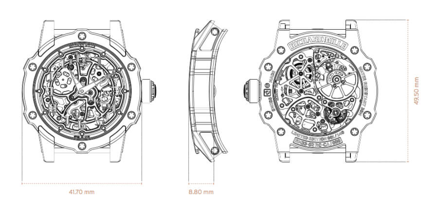 Richard Mille RM 33-02 Automatic Specifications