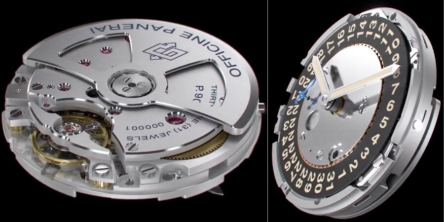 Panerai P.9010 Movement