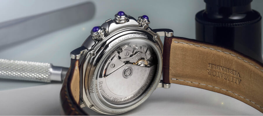 Raymond Weil Parsifal Heritage Chronograph Watch Movement