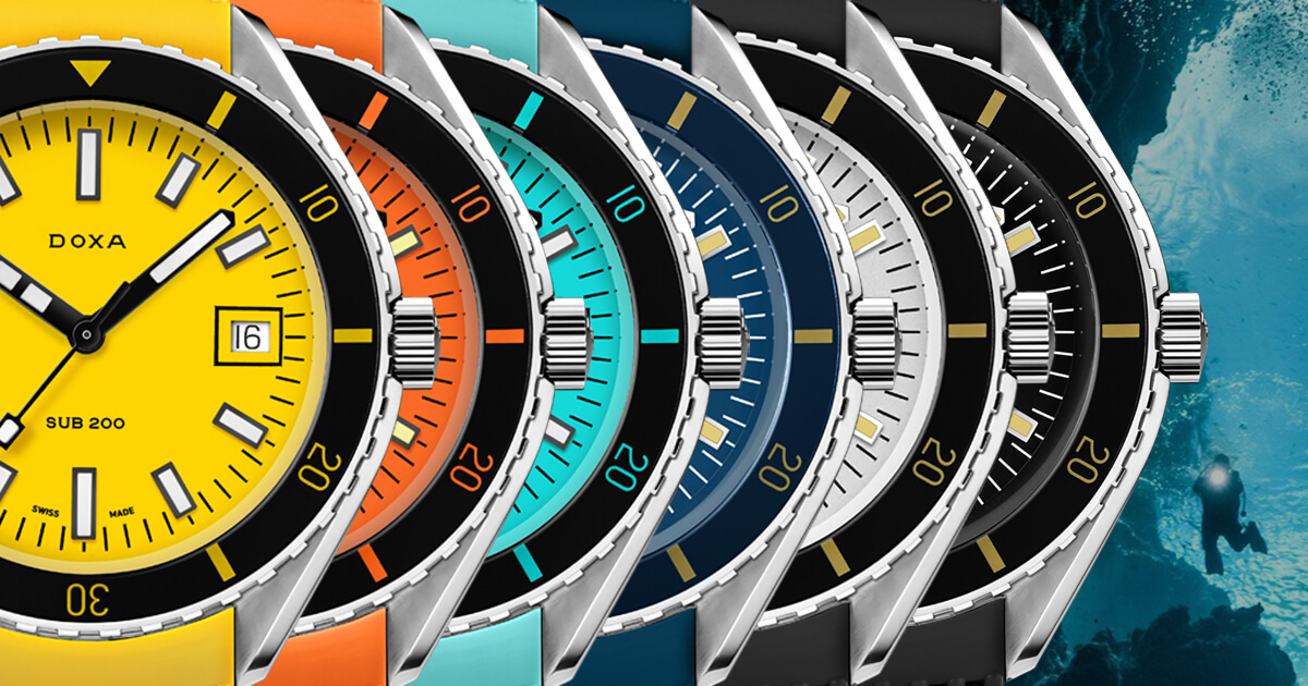 Doxa SUB 200 With FKM Rubber Strap (Price, Pictures and Specifications)