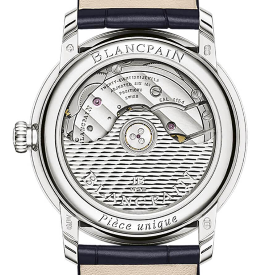 Blancpain Métiers d'Art Porcelaine Watch Movement