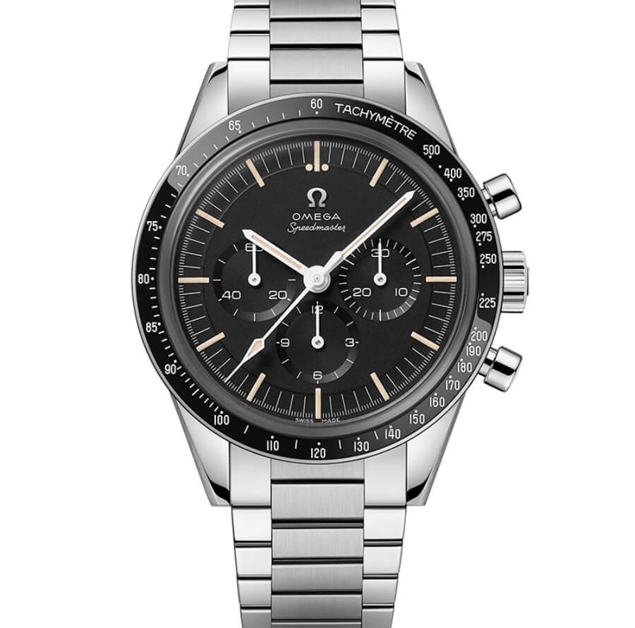 Omega Speedmaster Moonwatch 321 Stainless Steel Ed White