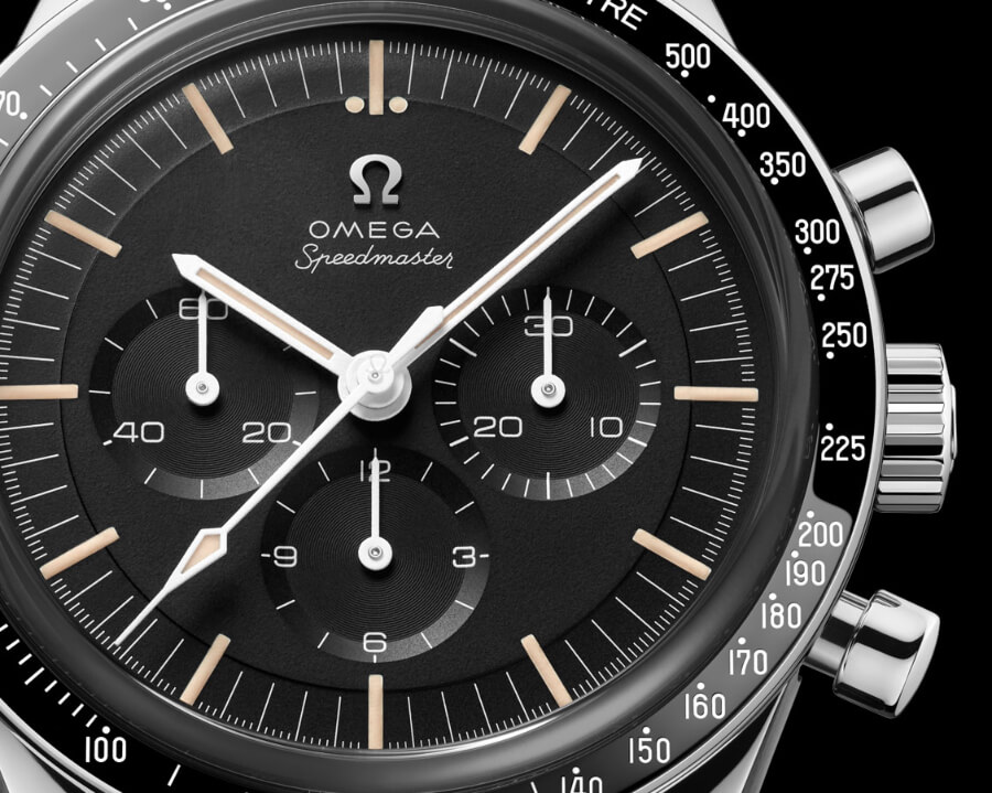 The New Omega Speedmaster Moonwatch 321 Stainless Steel Ed White