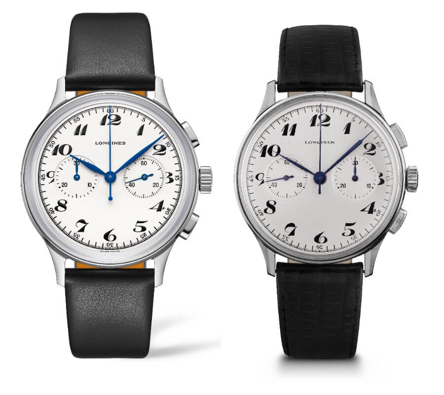 Longines Chronograph 13ZN Flyback and Longines Heritage Classic Chronograph 1946