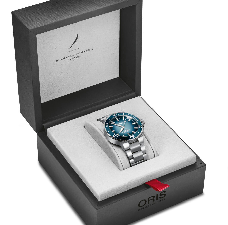 Oris Lake Baikal Limited Edition Full Box