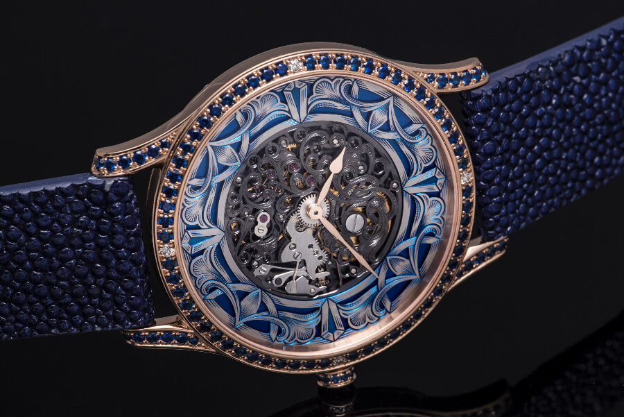 Molnar Fabry Lady Art Skeleton Watch Review