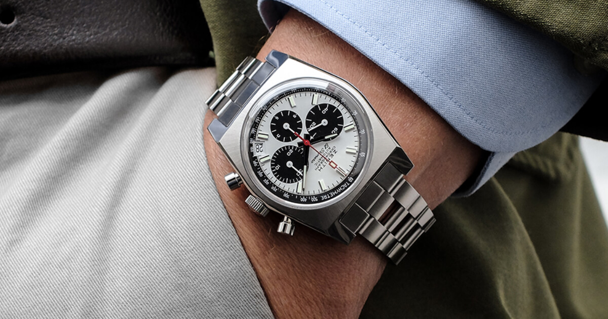 Zenith El Primero A384 Revival Gay Frères Ladder Bracelet (Price, Pictures and Specs)