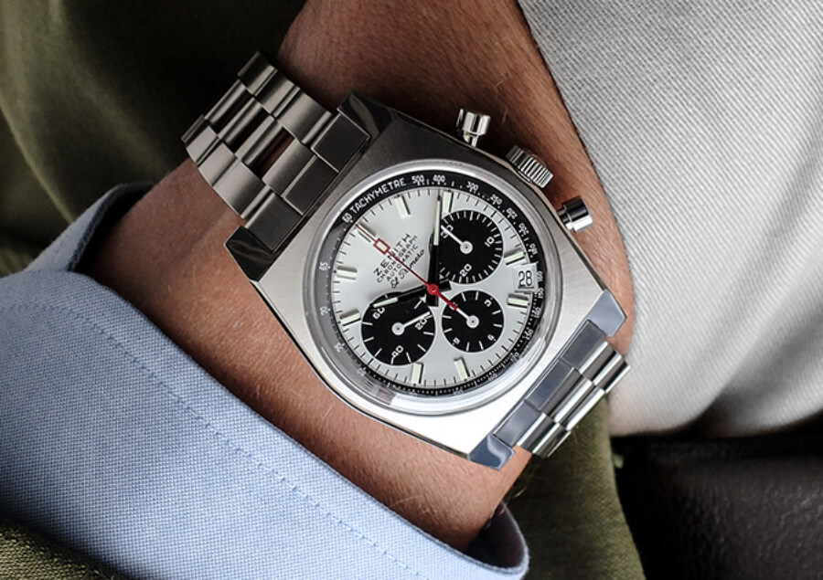 Zenith El Primero A384 Revival Gay Frères Ladder Bracelet Watch Review