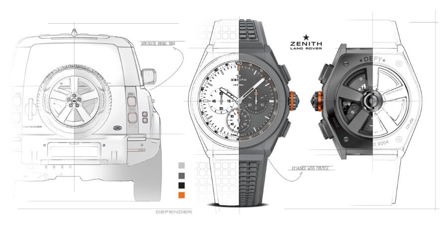 Zenith DEFY 21 Land Rover Edition Discovery