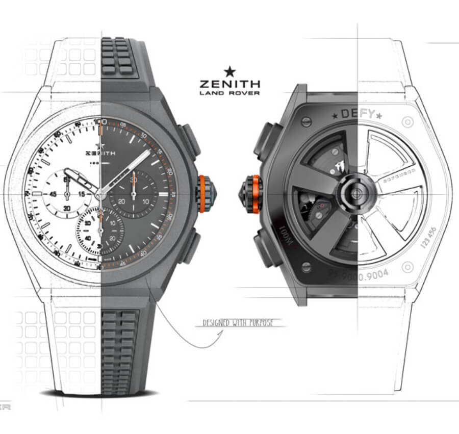 The New Zenith DEFY 21 Land Rover Edition