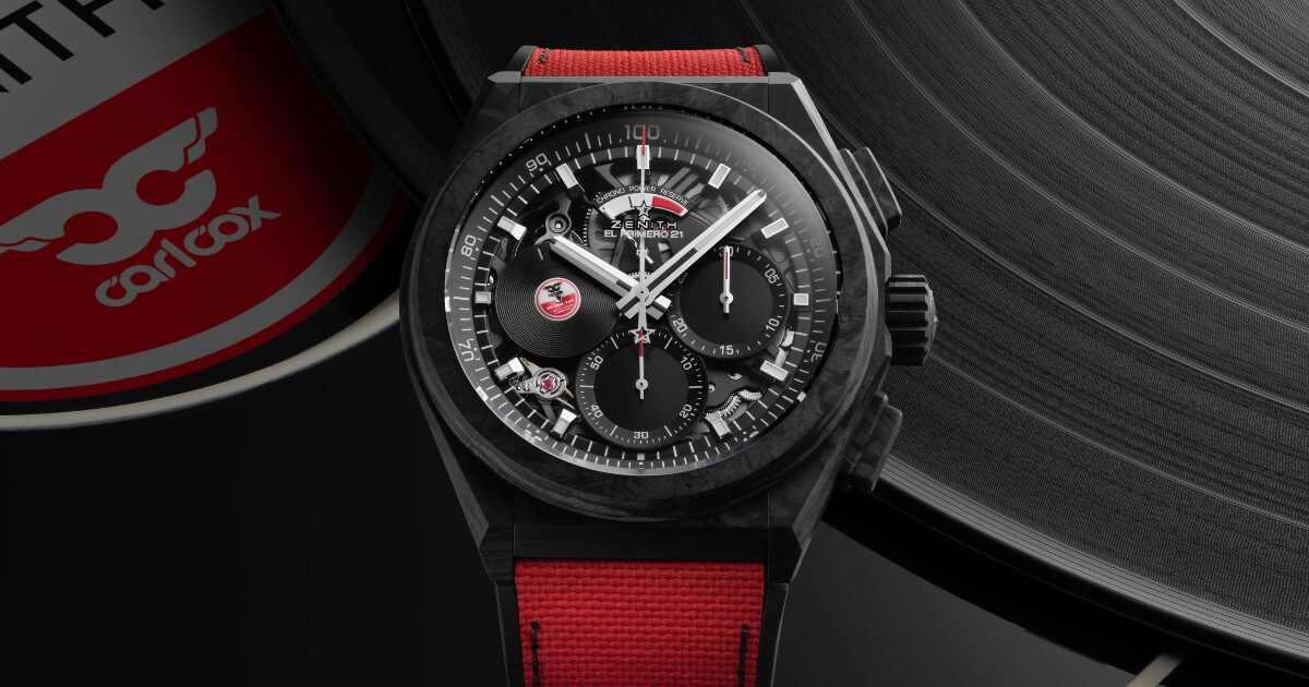 Zenith DEFY 21 Carl Cox (Price, Pictures and Specification)
