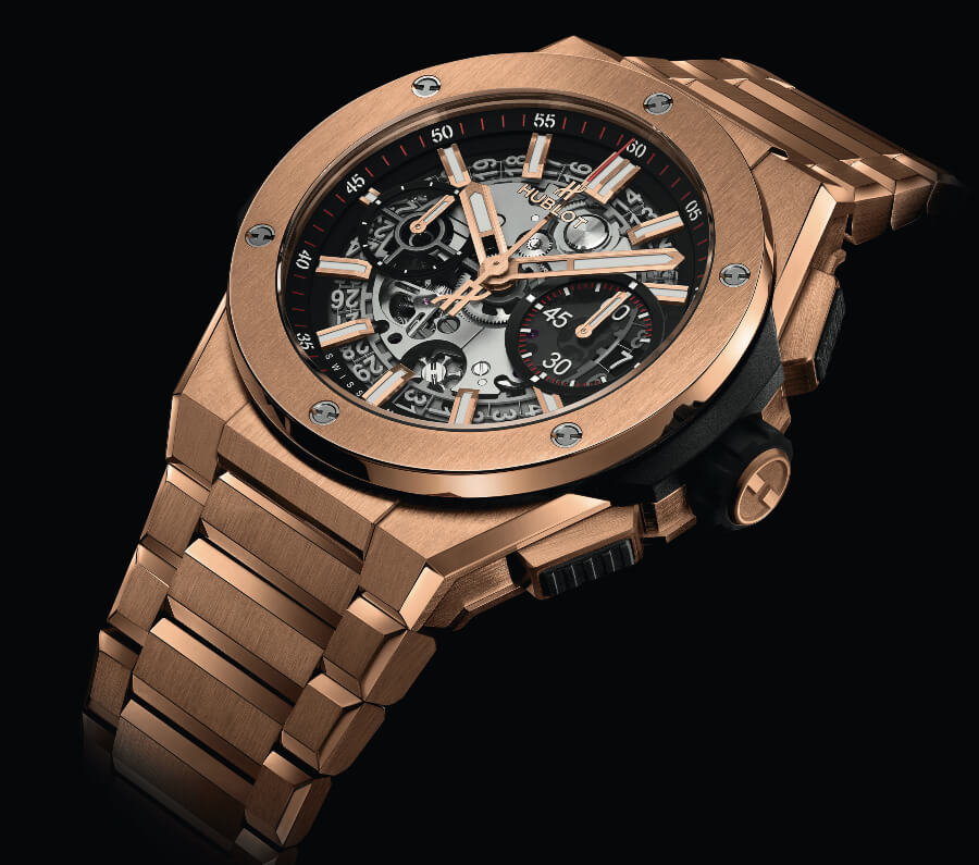 Hublot Gold Men Watch