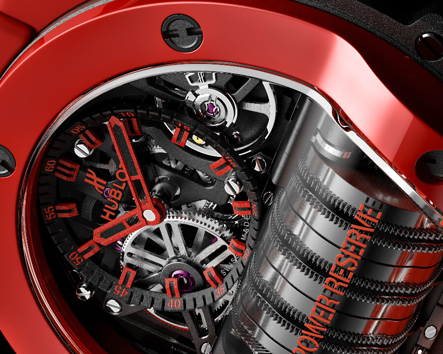 Hublot Big Bang MP-11 Red Magic Movement