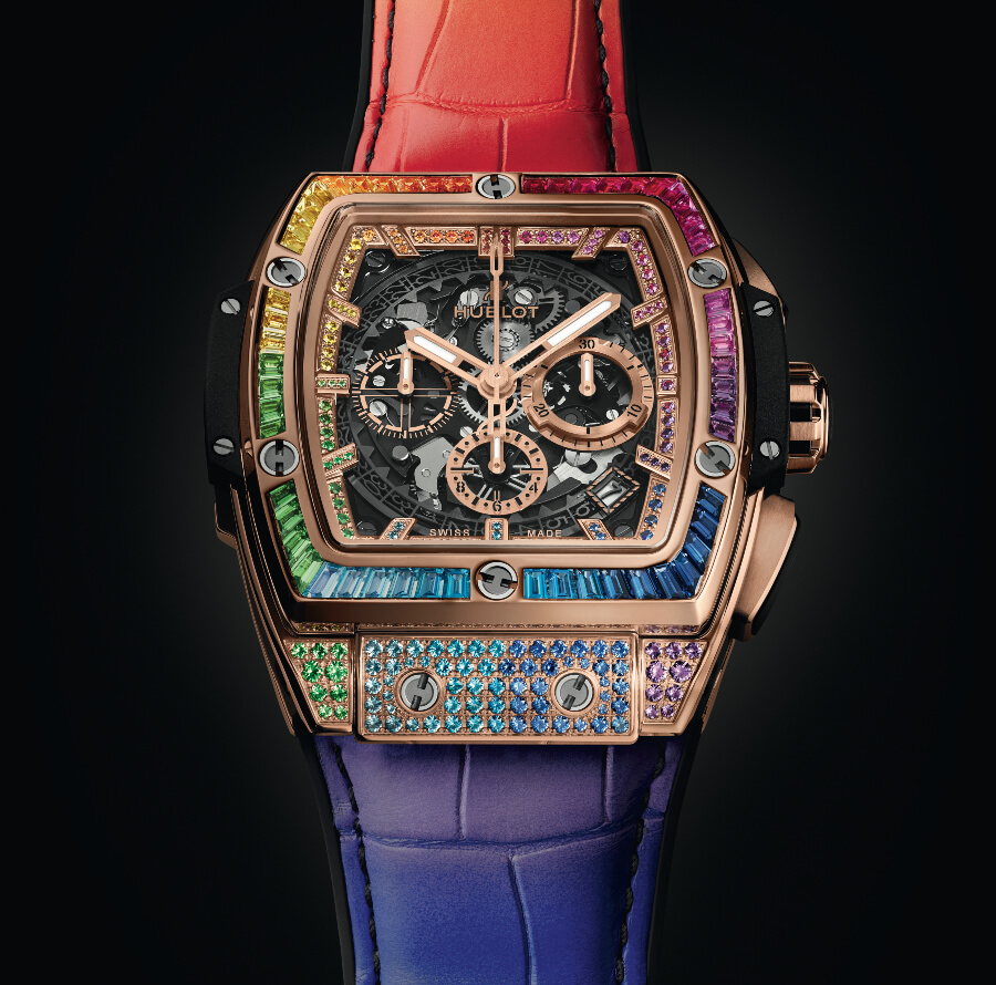 Hublot Spirit Of Big Bang Rainbow 42 mm Chronograph
