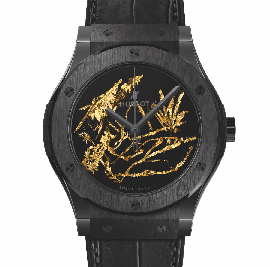 The New Hublot Classic Fusion Gold Crystal – 45 MM