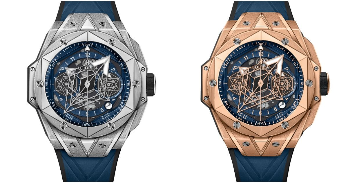 Hublot Big Bang Sang Bleu II (Price, Pictures and Specifications)