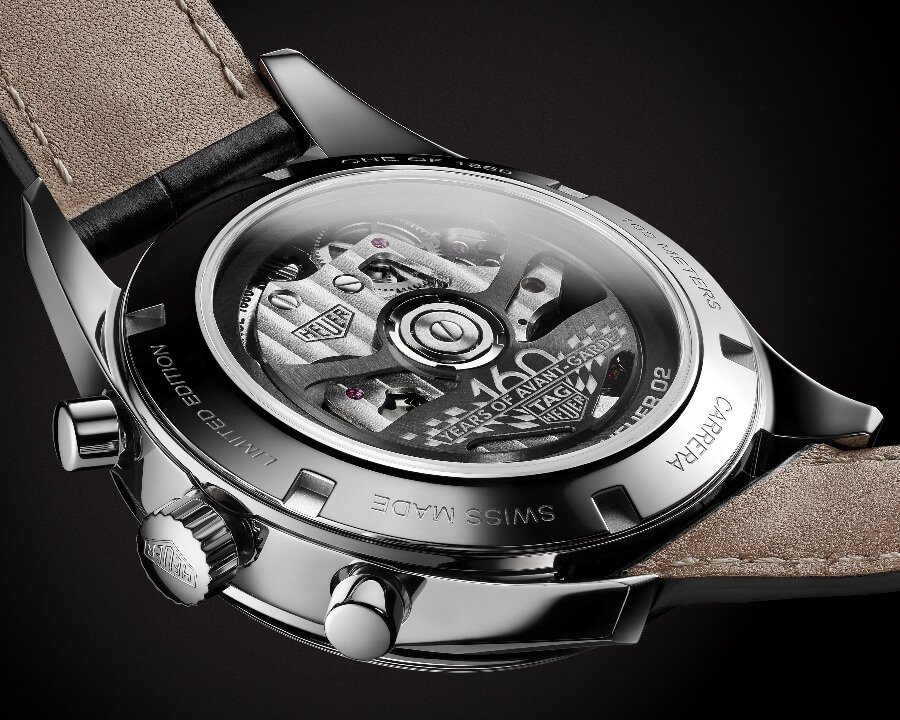 Tag Heuer In House Chronograph Movement