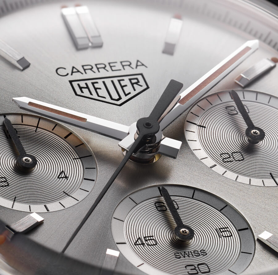 TAG Heuer Carrera 160 Years Silver Limited Edition Dial