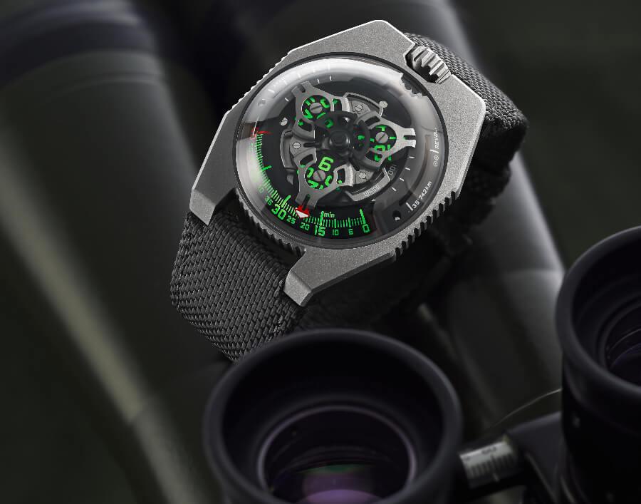 Urwerk UR-100 GunMetal Watch Review