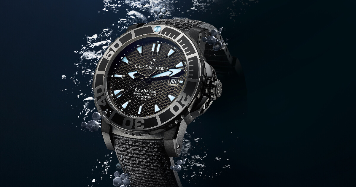 Carl F. Bucherer Patravi Scubatec Black (Price, Pictures and Specs)