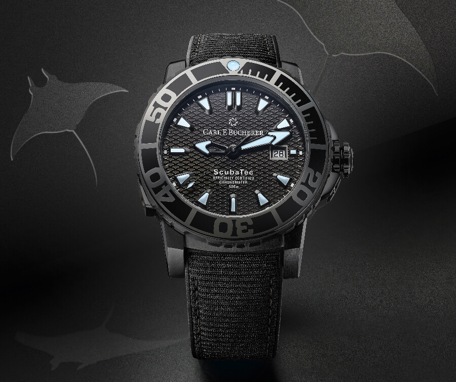 Carl F. Bucherer Patravi Scubatec Black Watch Review