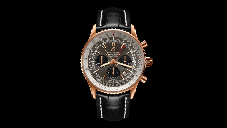 The New Breitling Navitimer B03 Chronograph Rattrapante 45