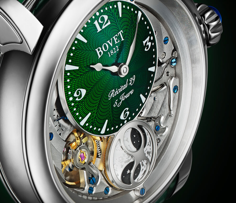 Bovet Dimier Récital 29 Dial Men Watch