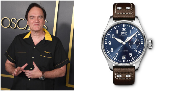 Watch Spotting: Quentin Tarantino Wearing A IWC Watch During The 2020 Awards Season