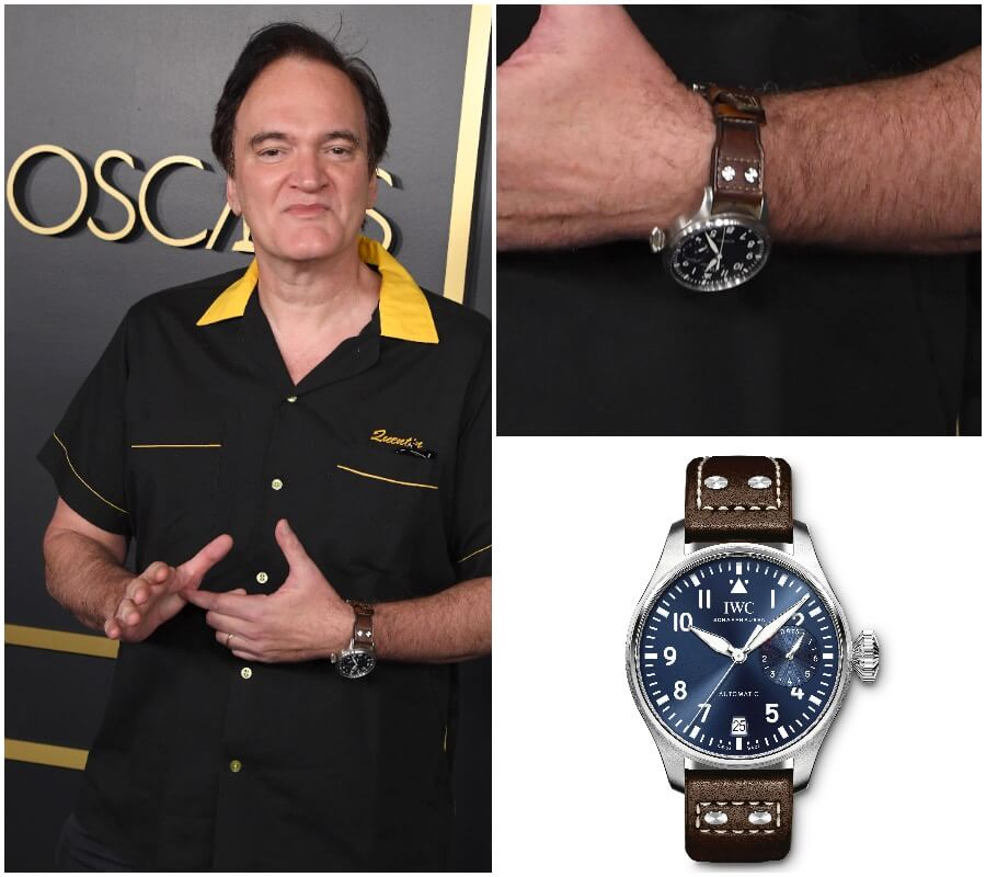 Quentin Tarantino IWC Watch Collection